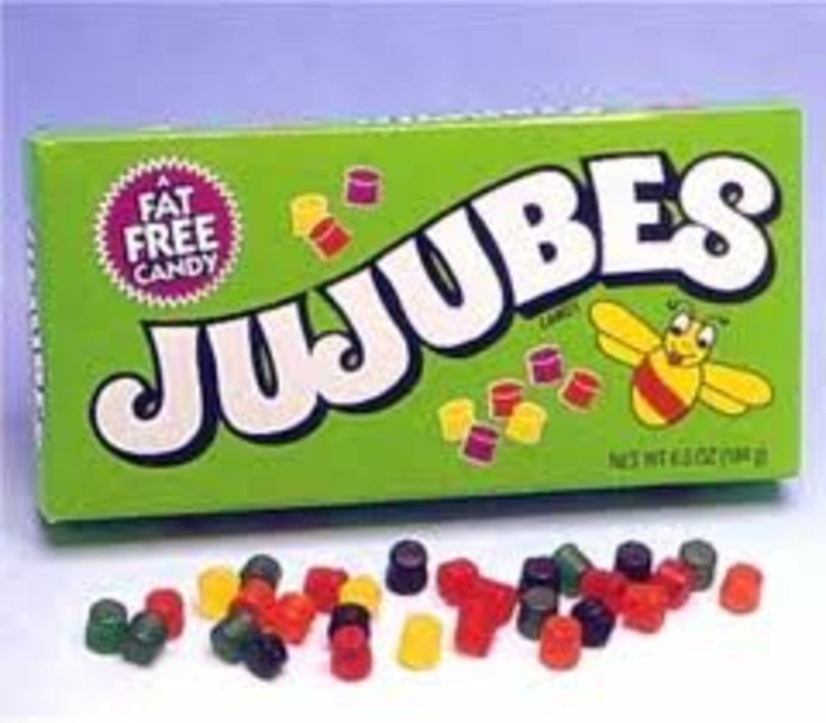 popular movie candy/not real jujube