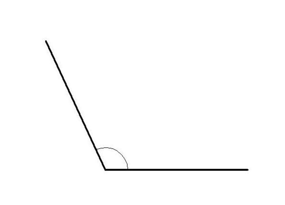 how-to-divide-an-obtuse-angle-into-4-equal-parts