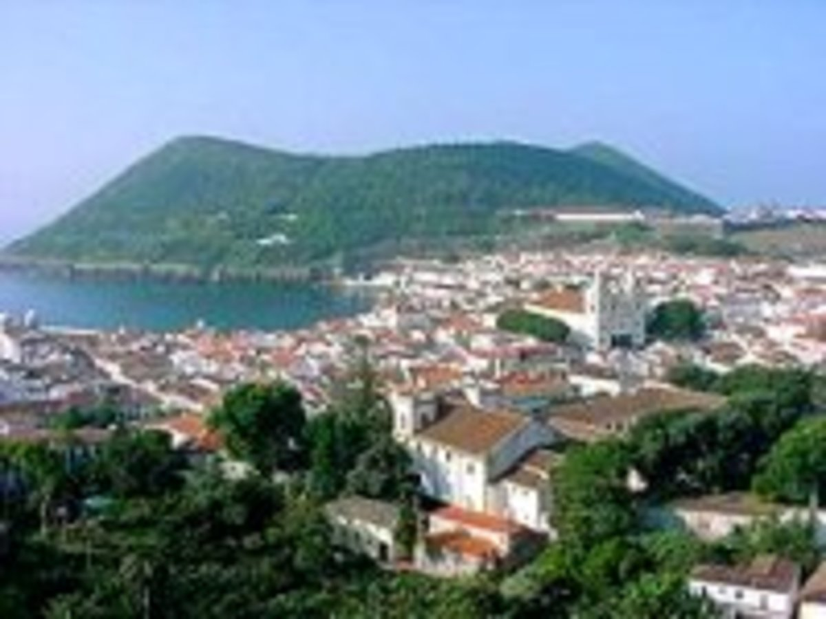 Terceira Island's largest town, Angra do Herosmo  a UNESCO World Heritage Site and longest-running, uninterrupted settlement in the islands.
