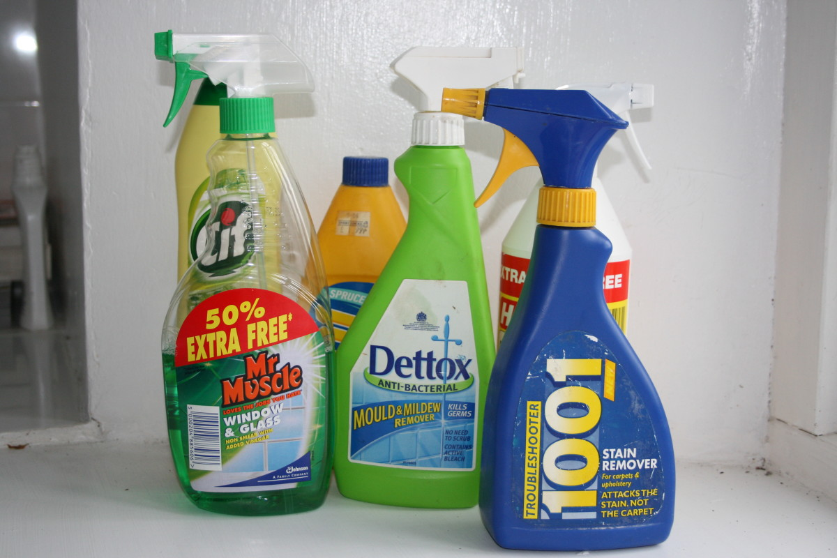 Toxins: Cleaning Products and How They Are Harmful to Your Health