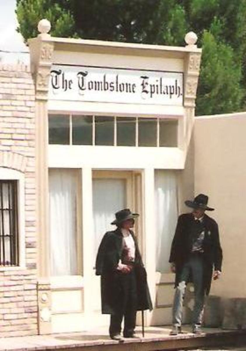 No town is complete without a newspaper.
