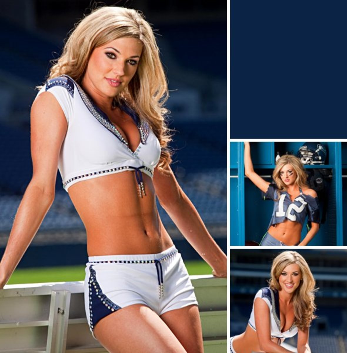 Top Ten Hottest NFL Cheerleaders