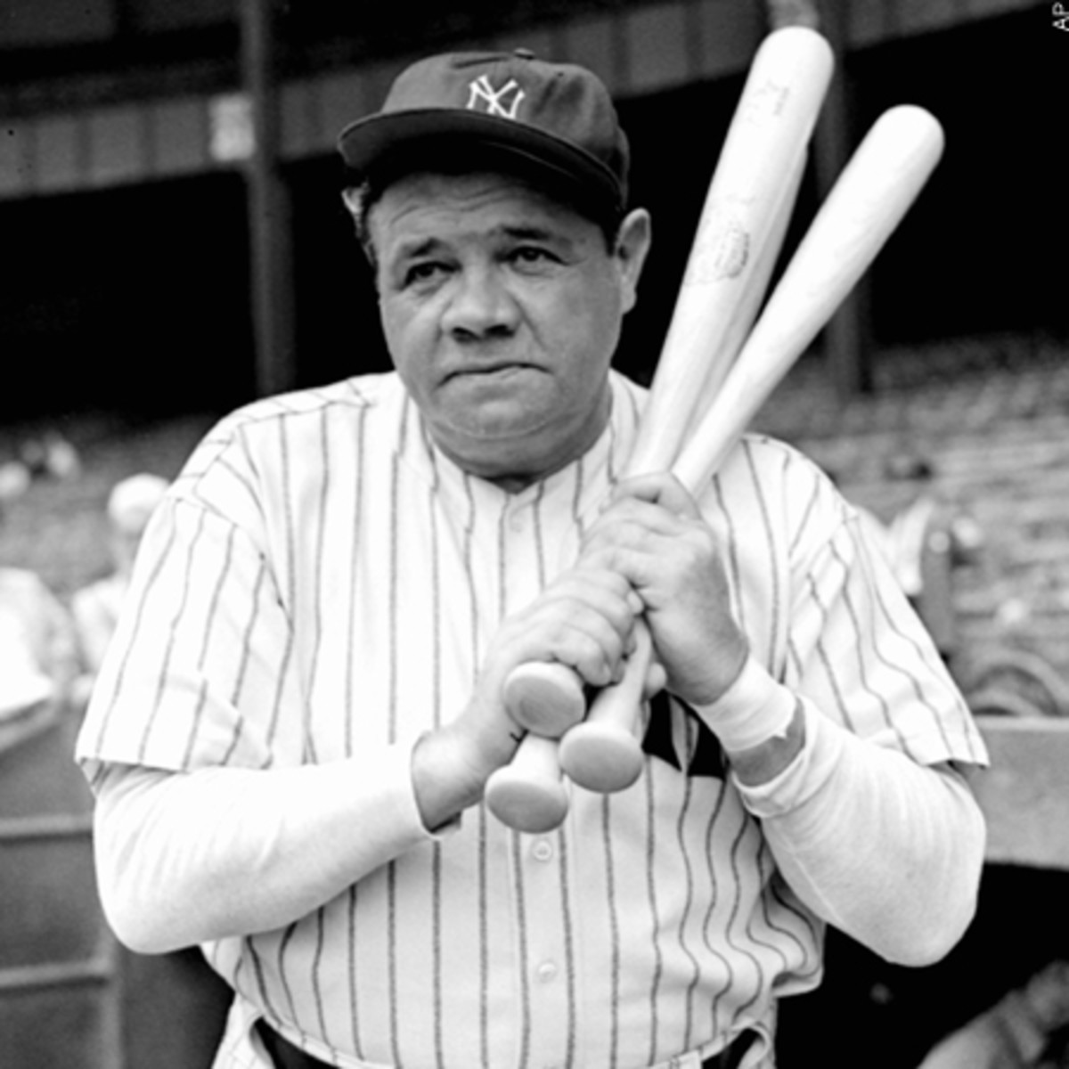 Babe Ruth in the latter stages of his career