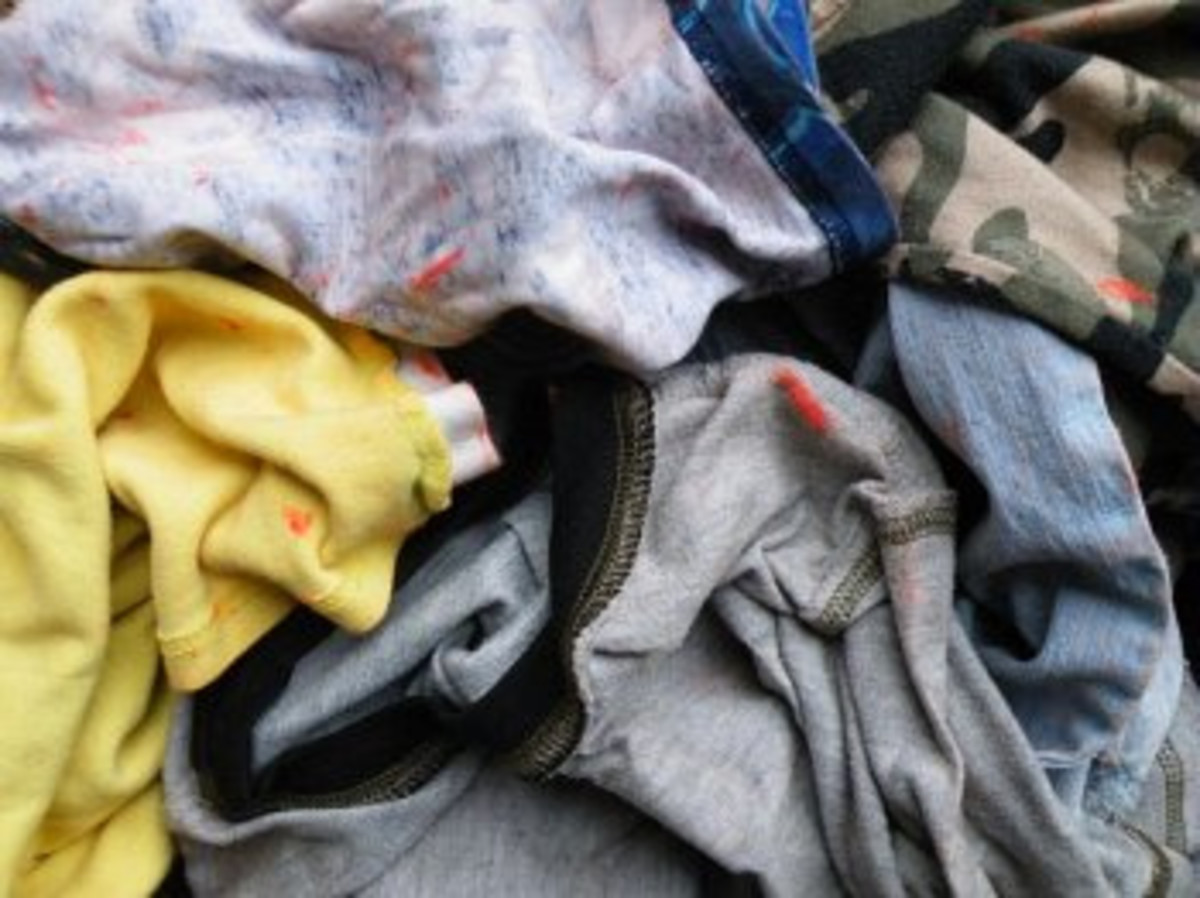 Melted Crayons On Clothing Can Be A Real Problem But There is A Simple Solution.