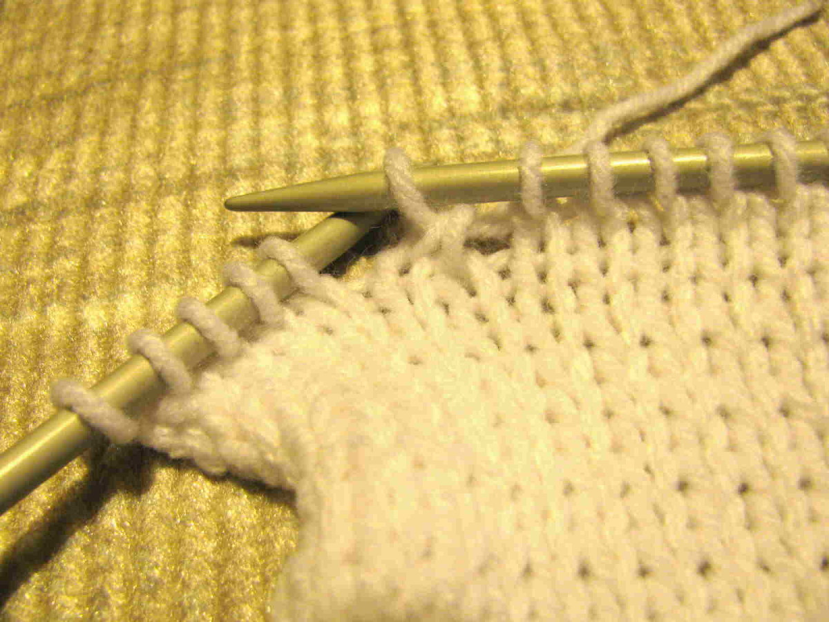 Read Knitting Patterns with Decreases
