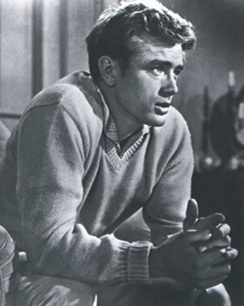 James Dean most famous for his film , Rebel with out a cause was a troubled soul even when alive.