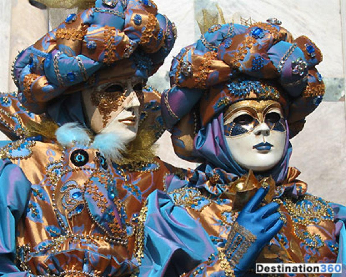 Venician Carnival Costumes