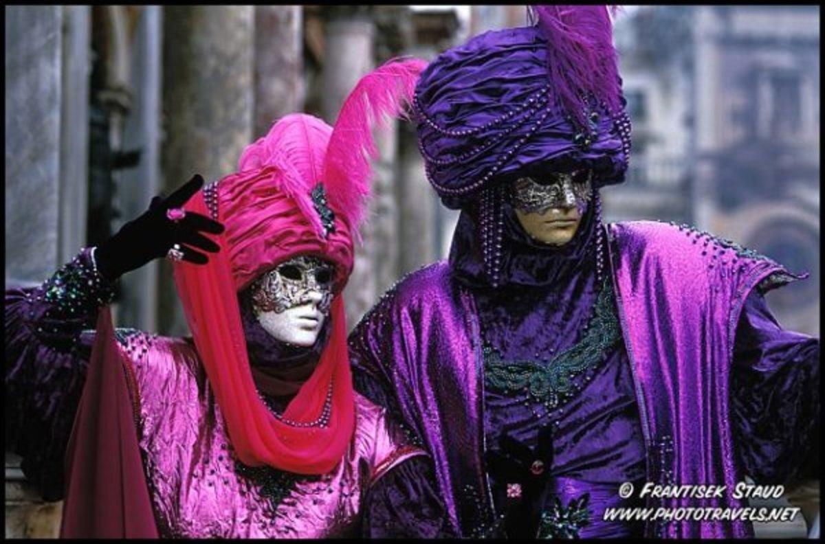 Venitian Carnival Costumes