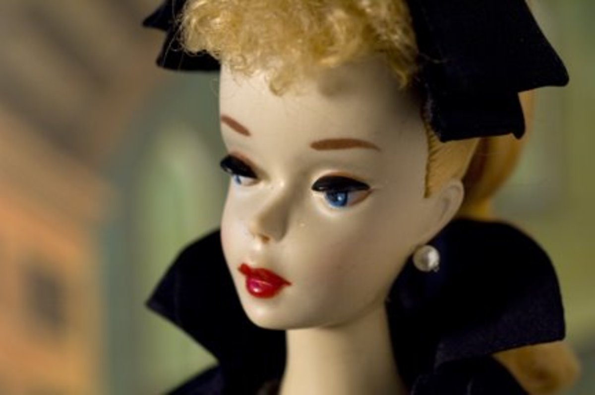 An early Barbie Doll