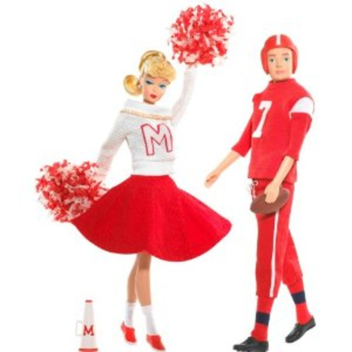 Reproduction Barbie and Ken