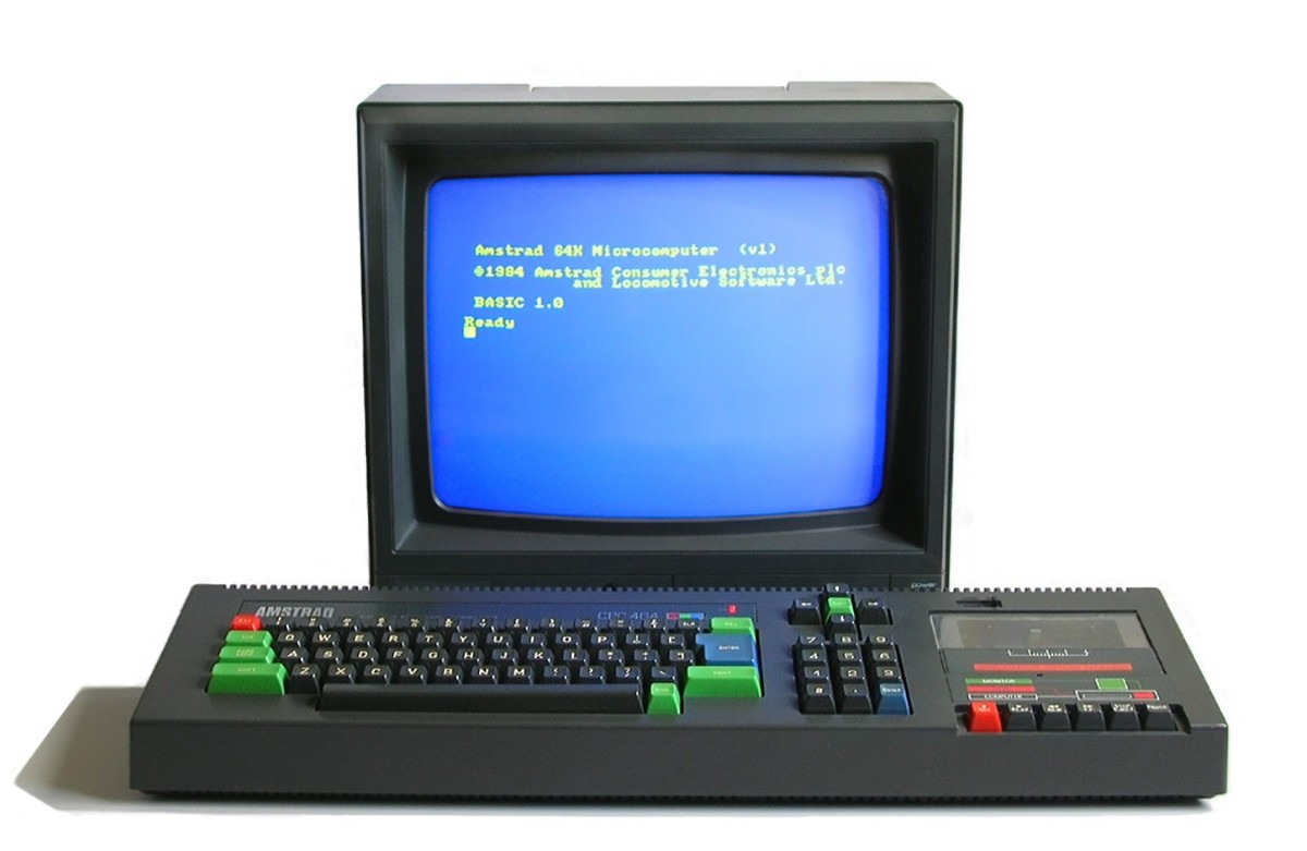 The Amstrad CPC464 looked quite professional
