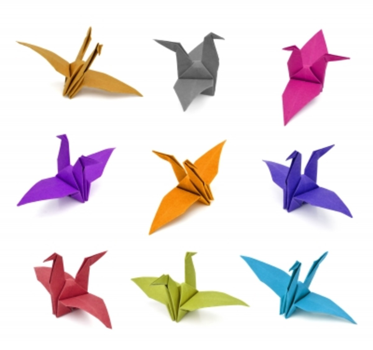 Children love to make Origami birds.  I use double sided tape for placing on walls.  Instructions at : http://www.wikihow.com/Fold-a-Traditional-Origami-Swan