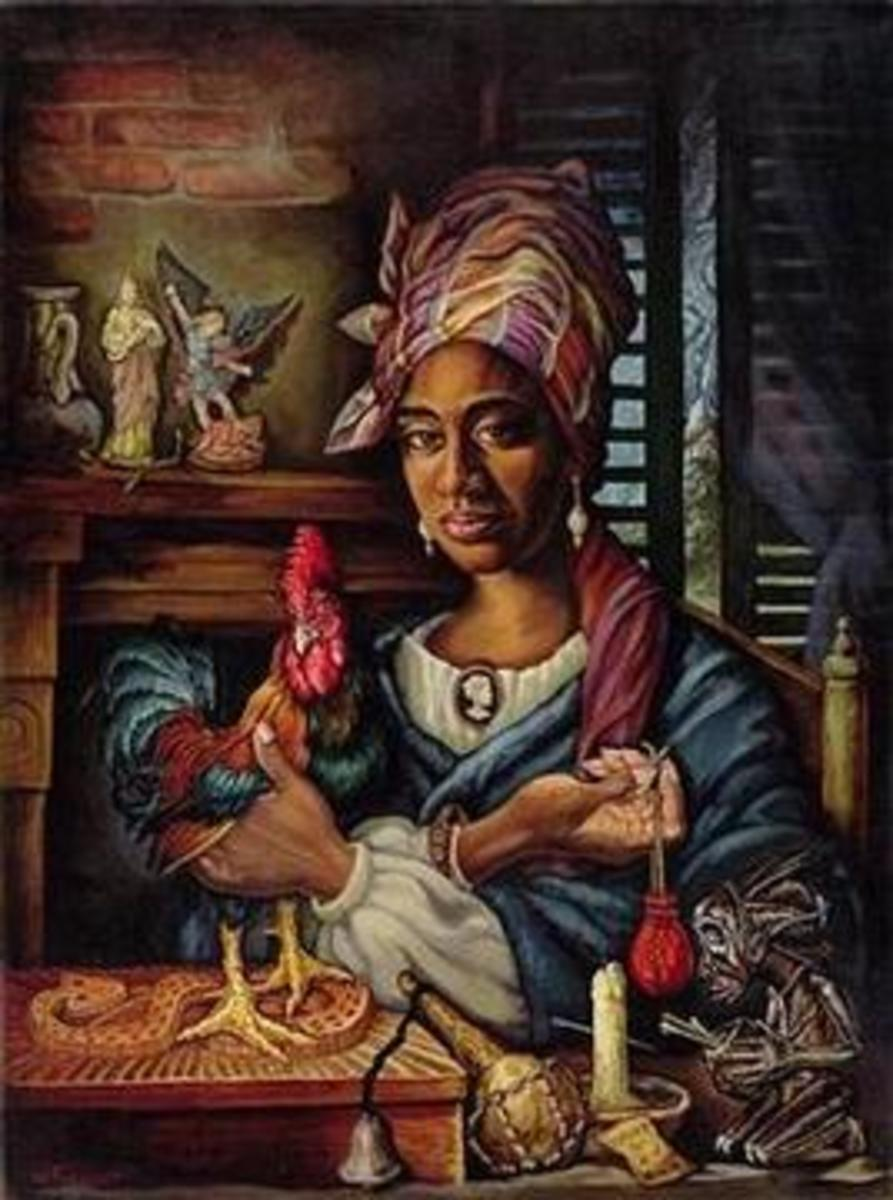 Marie Laveau was the most famous Voodoo Queen ever in New Orleans and there are even some people who make the claim that she is an immortal one , a vampire and that she still lives in New Orleans.