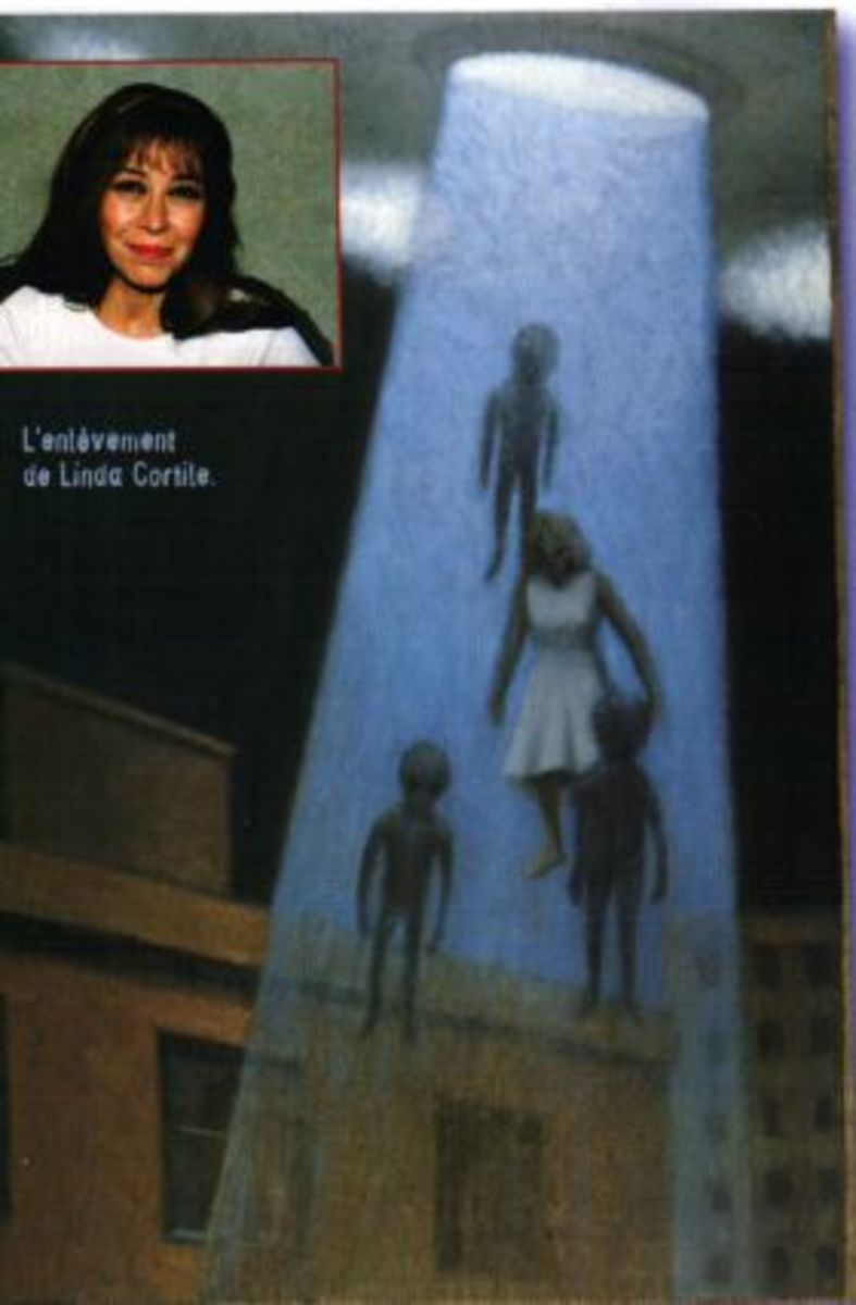 Was Linda Napolitano Abducted By Aliens From Outer Space.