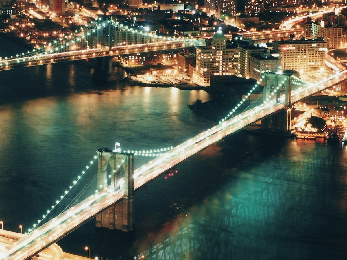 The Haunted Brooklyn Bridge. So many tragic things have happened at the Brooklyn Bridge and paranormal activity is said to be high at the bridge.