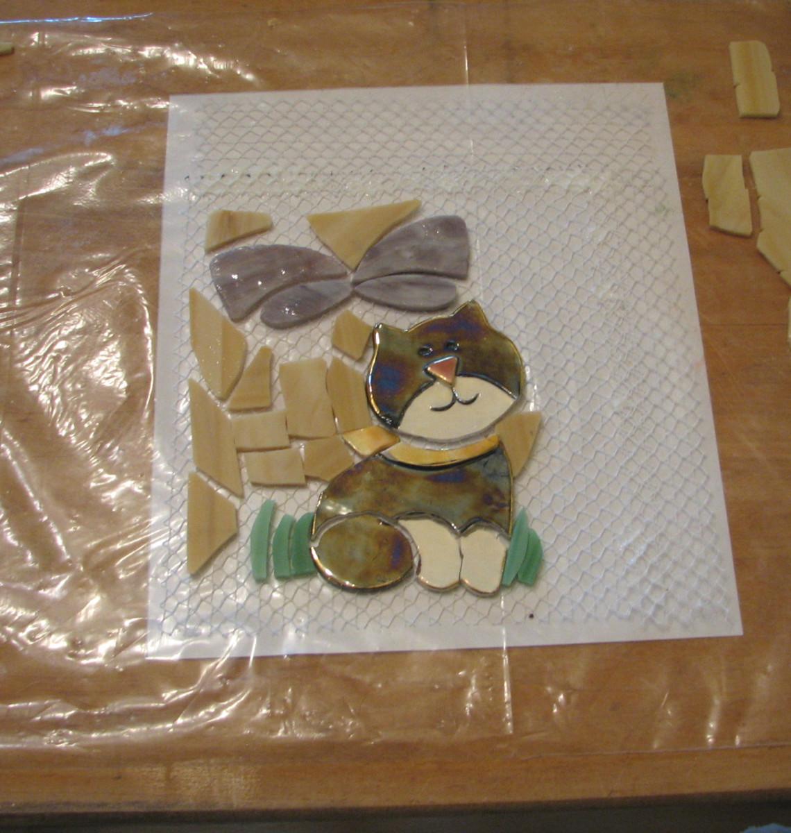 Setup for mosaic on mesh