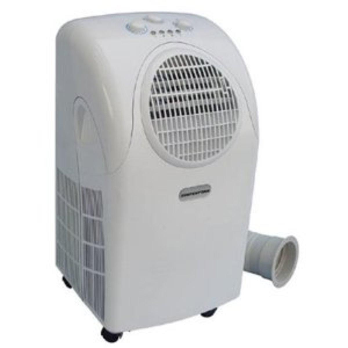 SPT Portable Air Conditioner, 7500 BTUs, WA-7500M