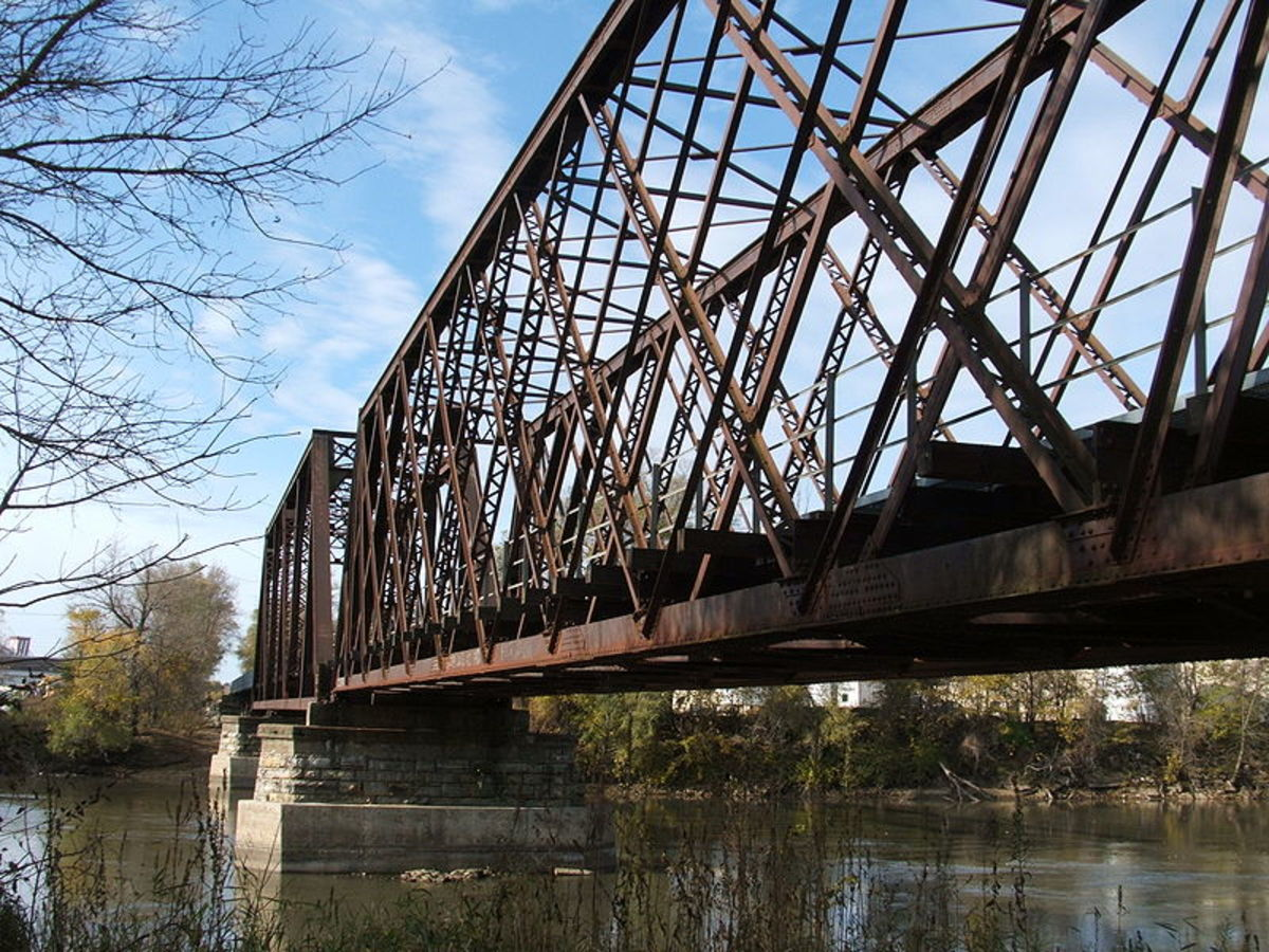 Types Of Truss Bridges Hubpages