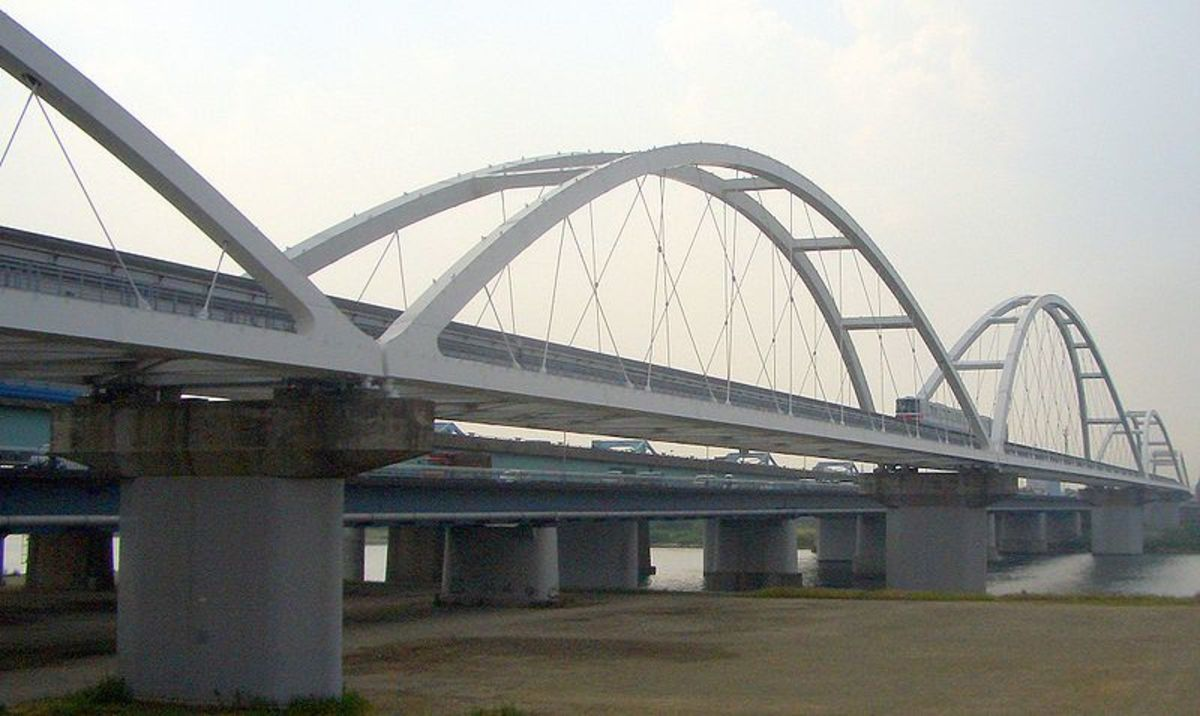 A modern Bowstring Arch Truss