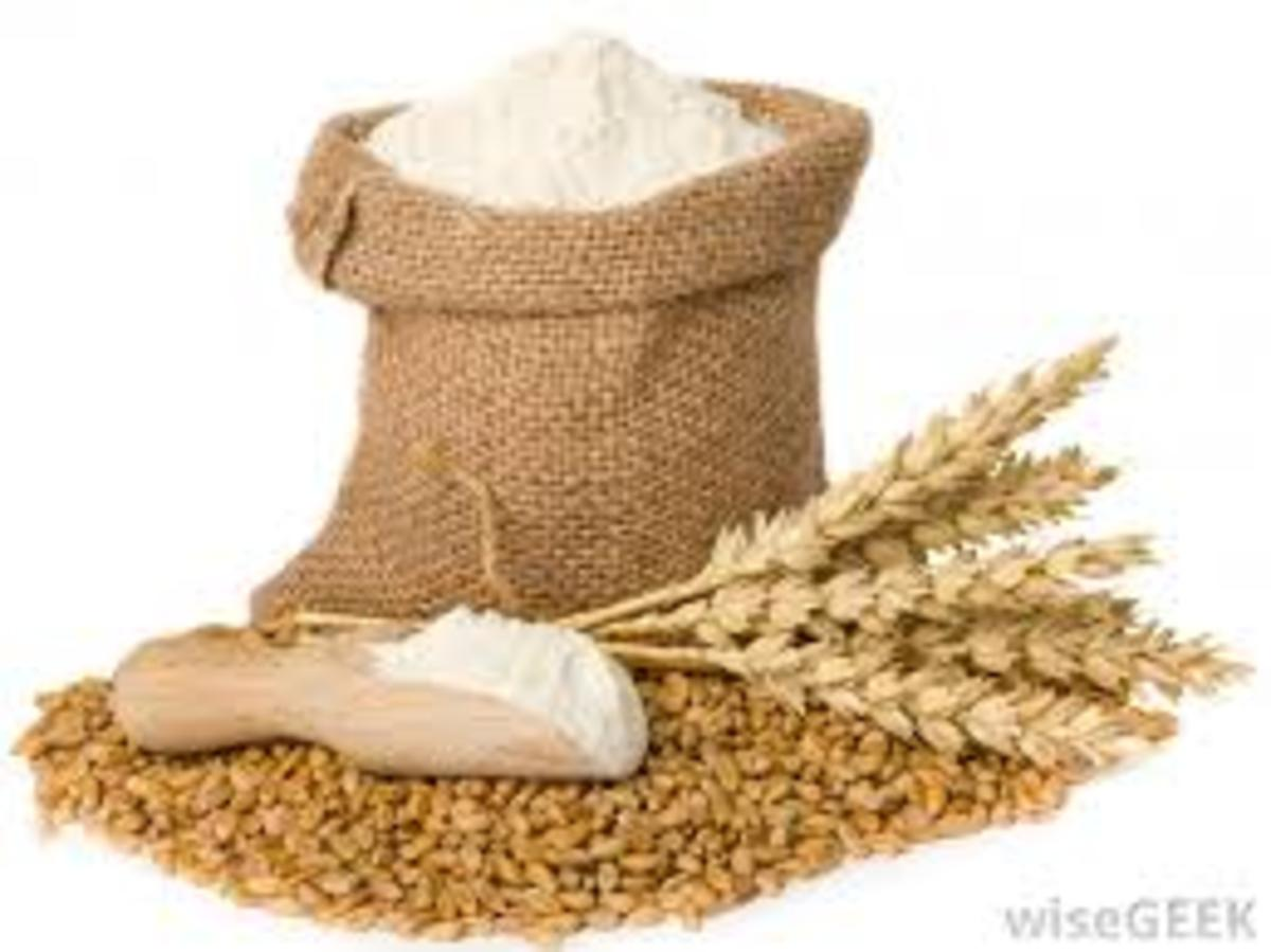 Whole wheat flour.