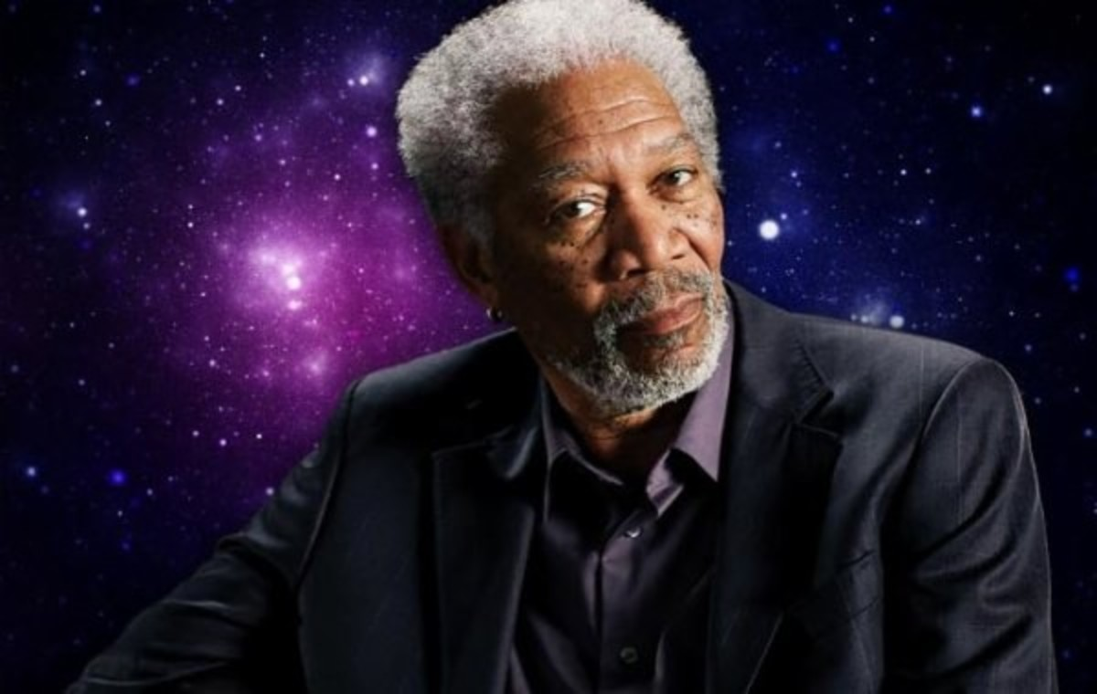 Morgan Freeman a Distinguished Actor