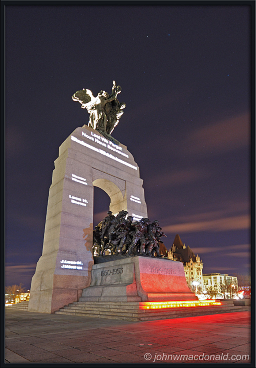 Canadian War Memorial - Ottawa, Canada