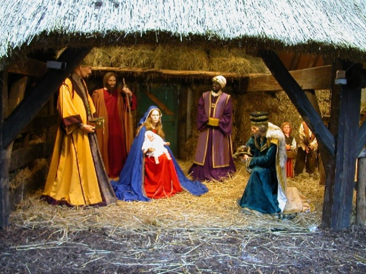 Gold, Frankincense And Myrhh : Why These Gifts Were  Given To A Newborn Jesus....