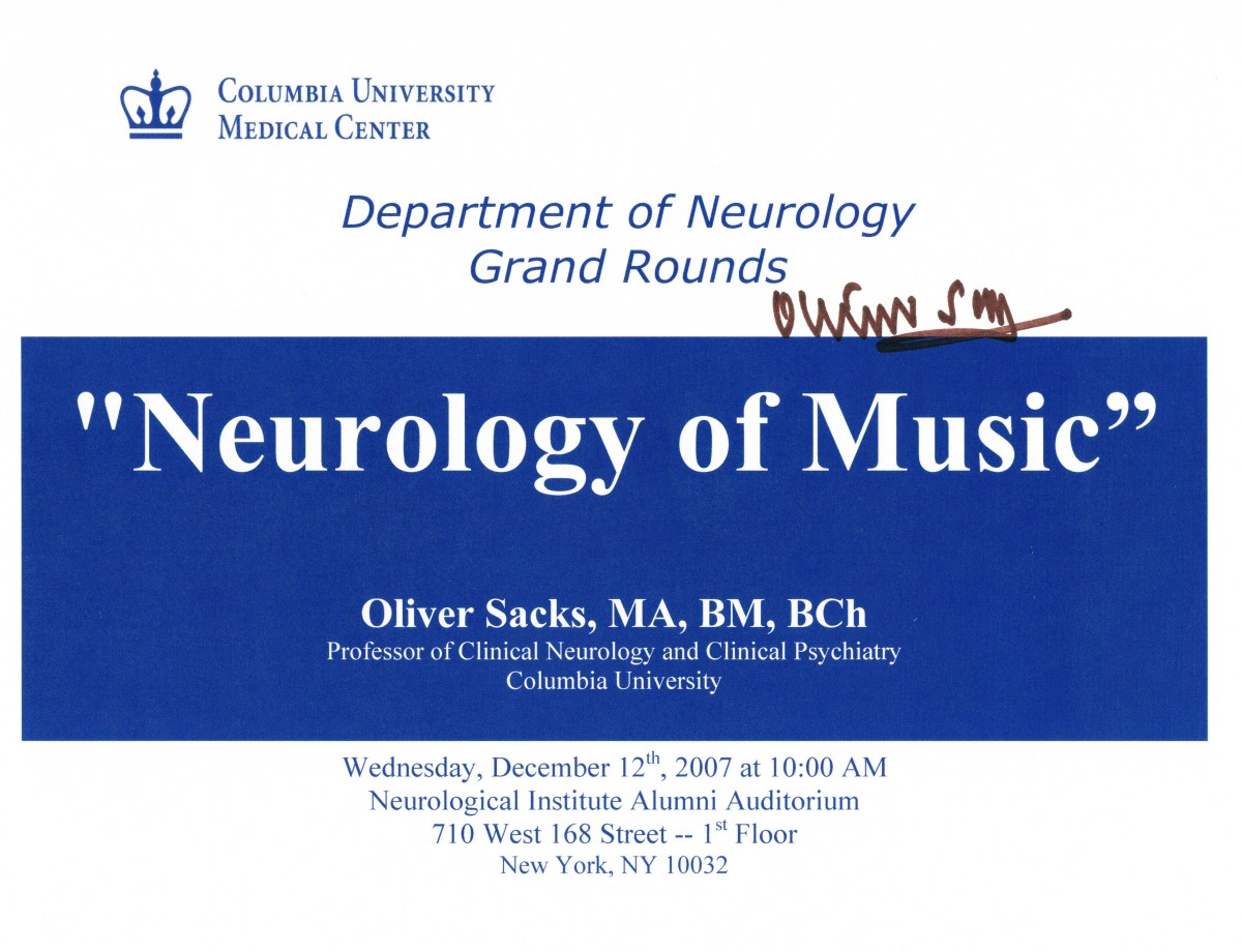 This time he was a professor of Clinical Neurology and Clinical Psychiatry there. (See above two pieces.)