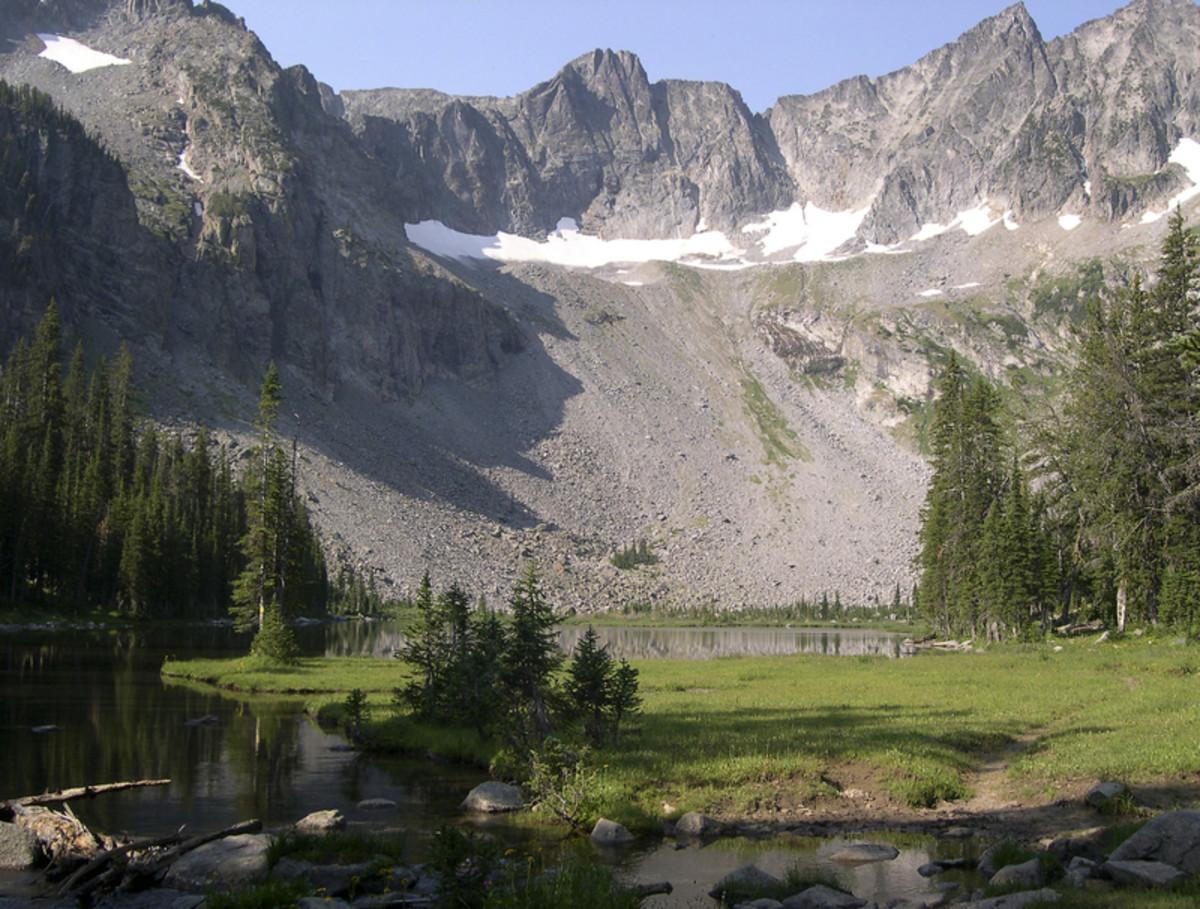 Twin Lake Crazy Mountain Montana