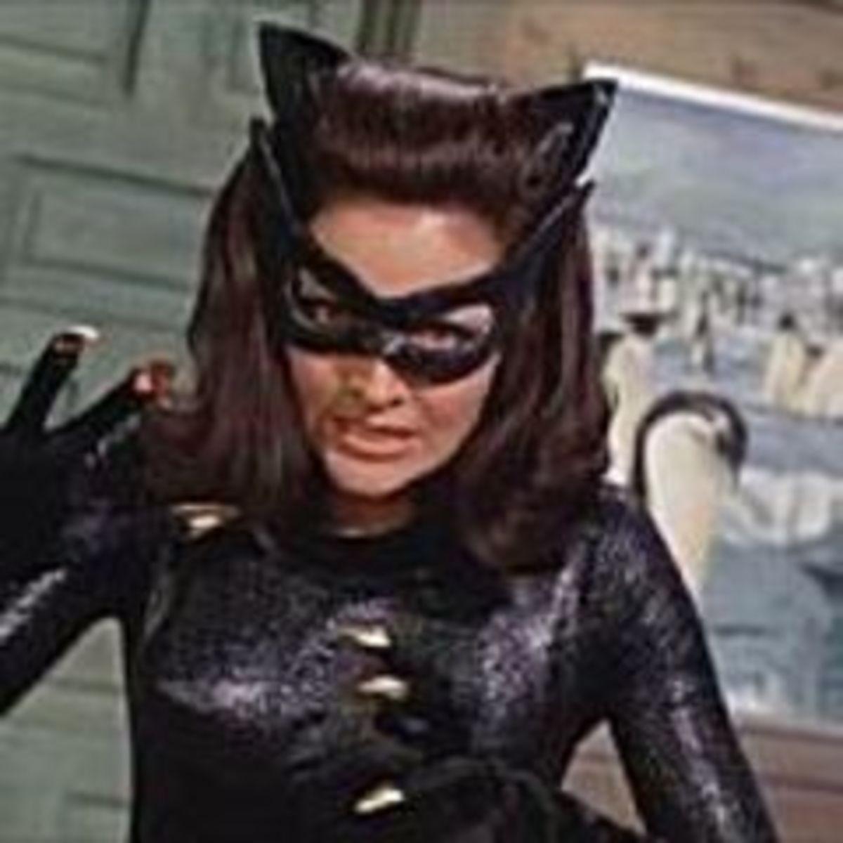 Lee Meriwether as Catwoman in Batman movie