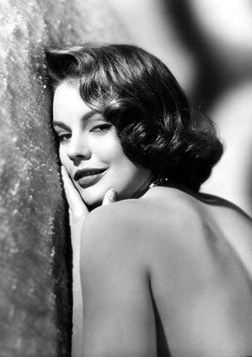 Myrna Hansen, Miss USA 1953, enjoyed a 15-year movie career following her reign