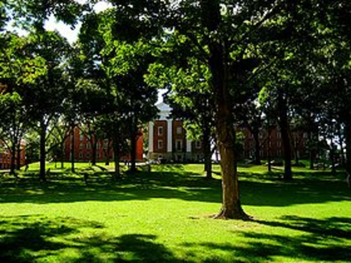 Amherst College Main Quad