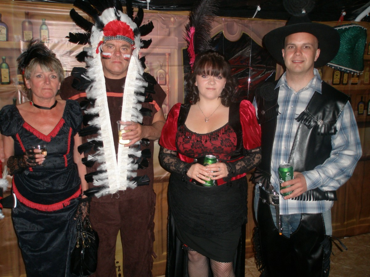 More Wild West Props n Frocks Hire Costumes