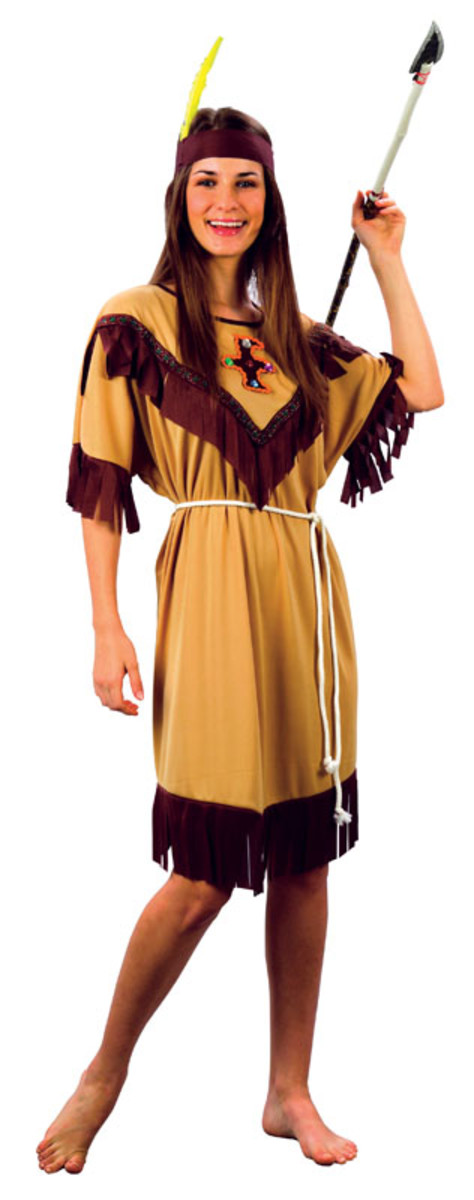 Ladies Squaw Costume