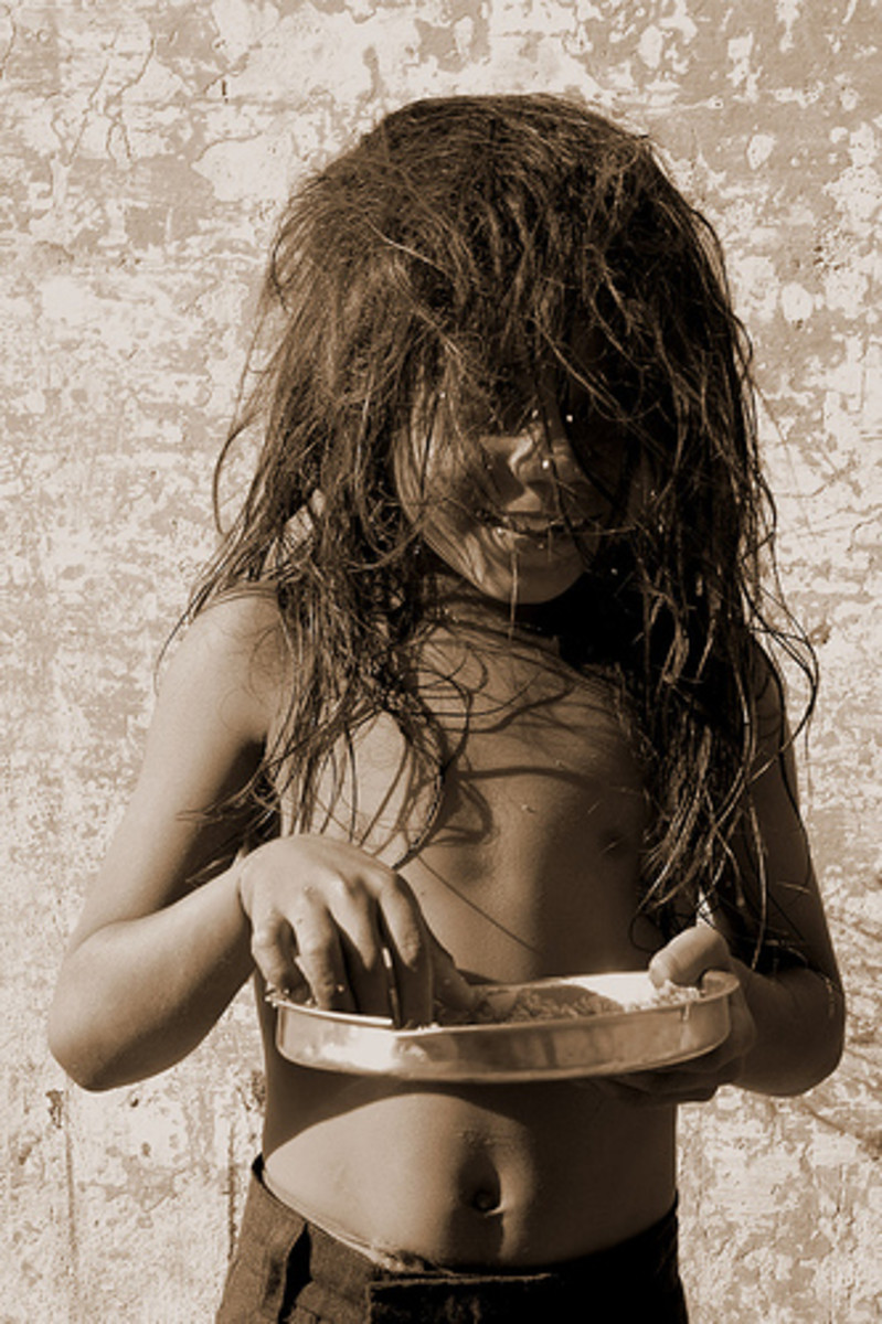 Lacking food