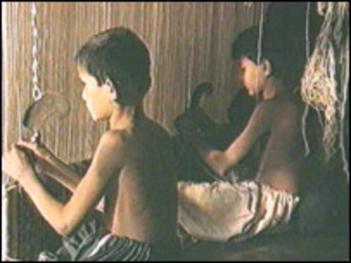 Child labour in Carpet Industry