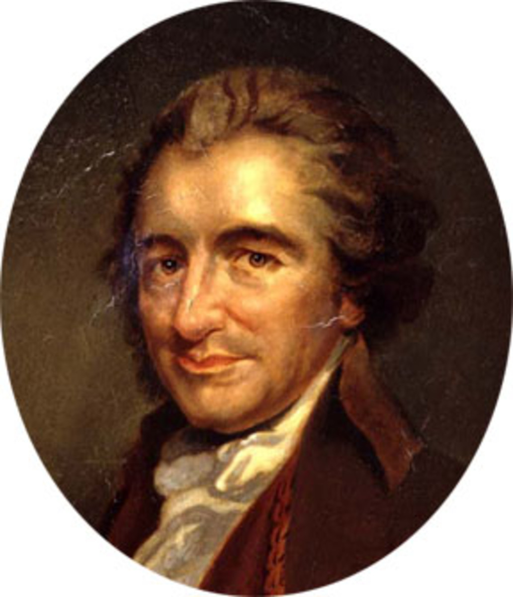 a look at the works of thomas paine an american author Thomas paine (1737-1809) the study of god a library of american he can only discover them and he ought to look through the discovery to the author 6.
