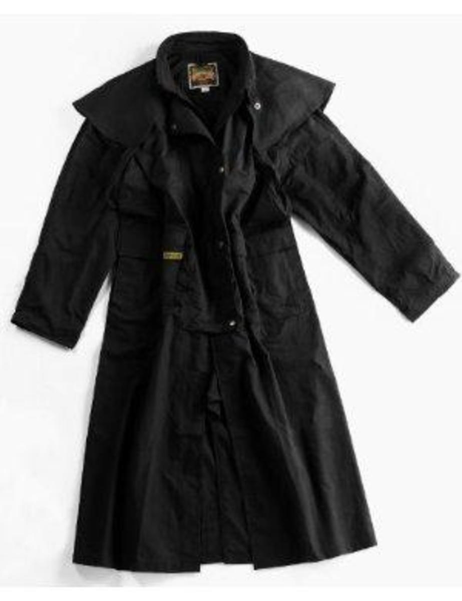 Down Under Drover Oilskin Coat