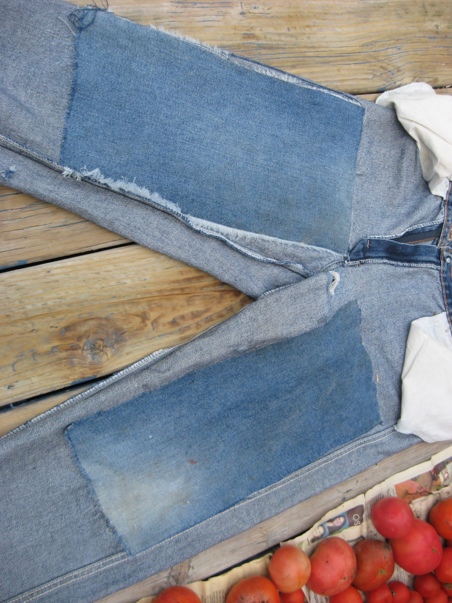 How To Patch Jeans With Shoe Goo, Repair Clothing With Glue