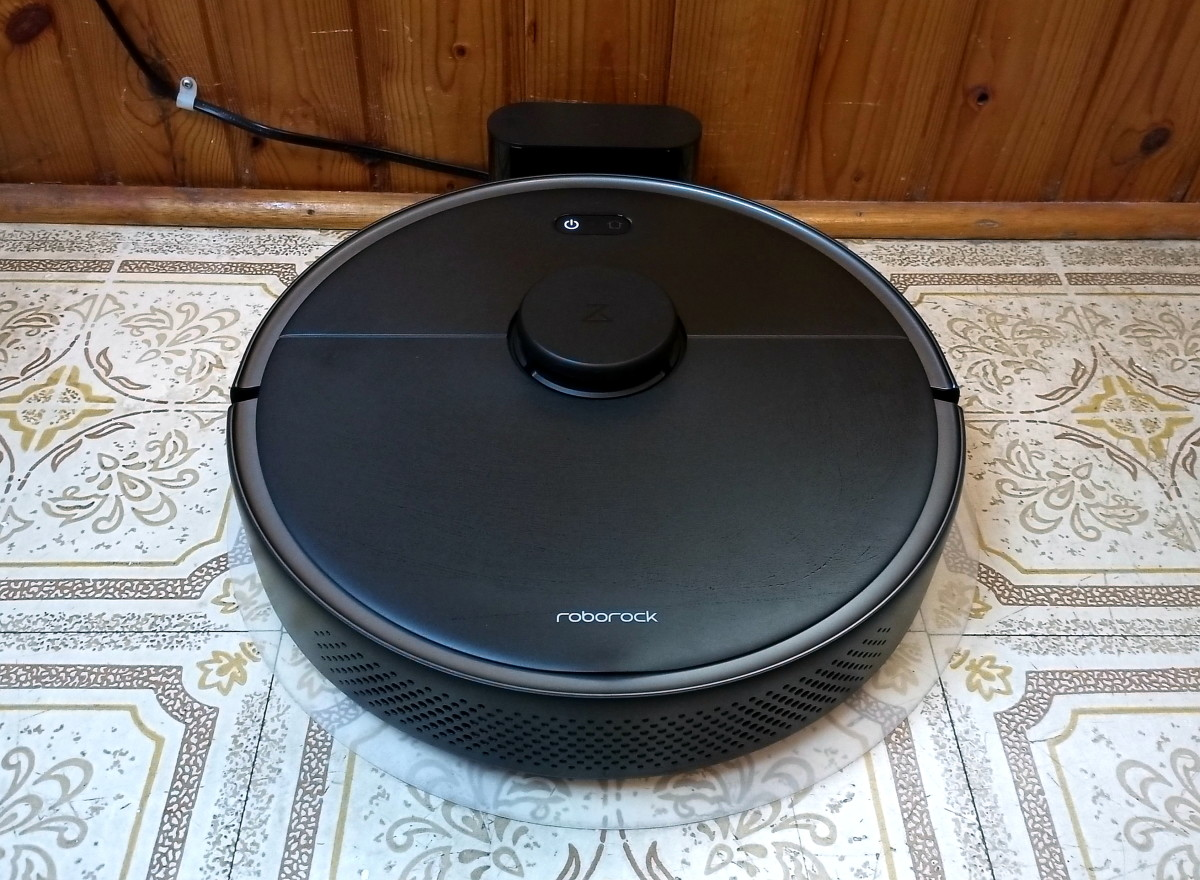 Robotic Vacuum at dock