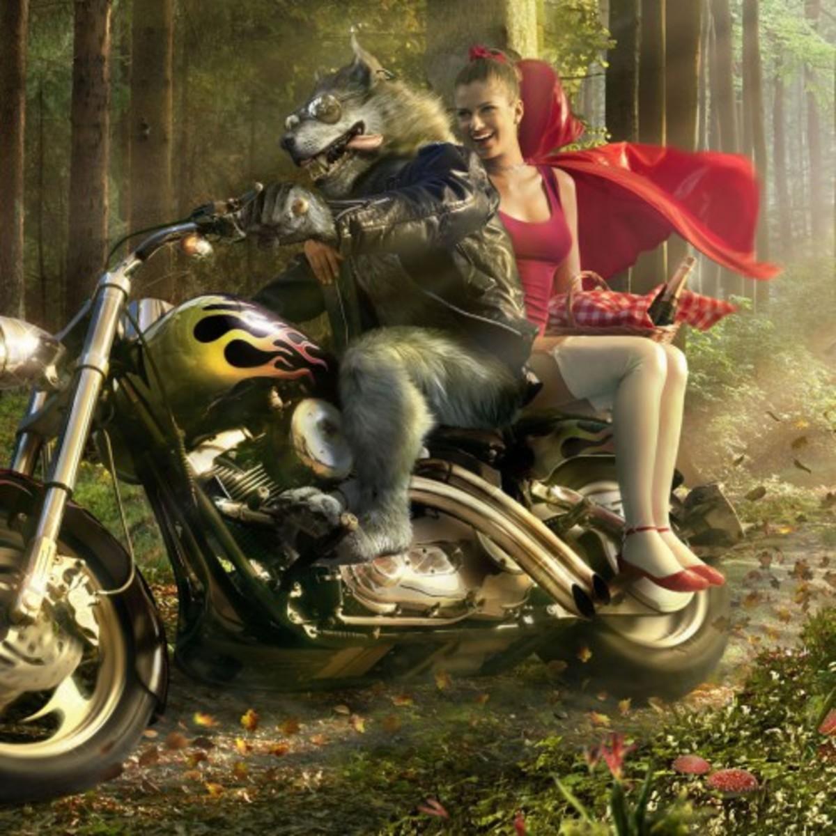 Fairytale Parodies: 100 words poetic short stories