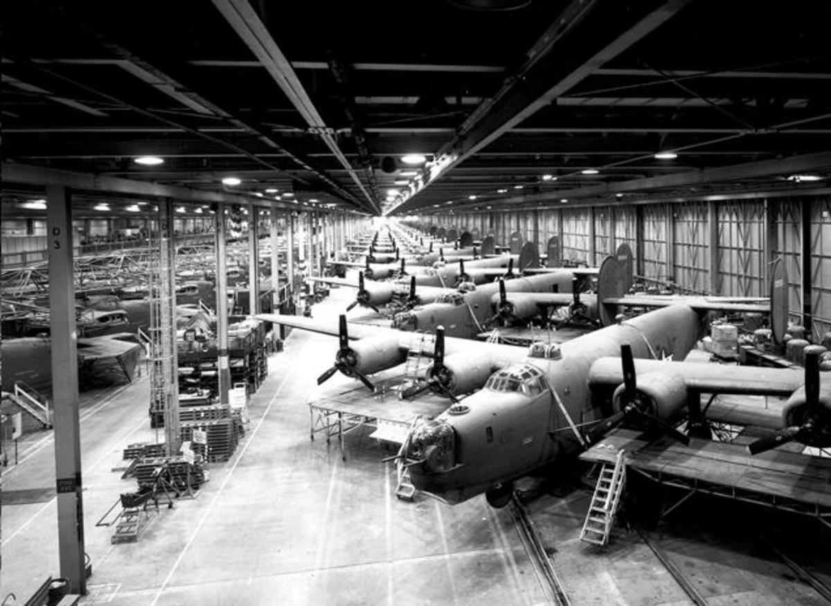 History Of The Consolidated B-24 Liberator