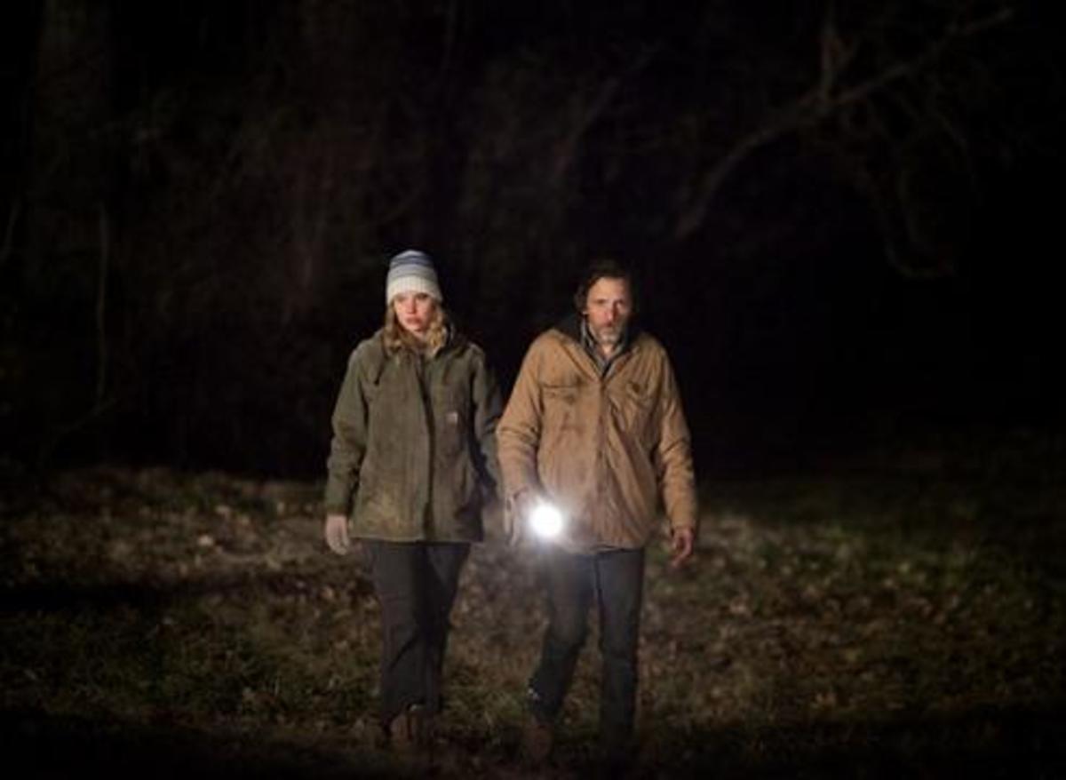 Jennifer Lawrence and John Hawkes in Winter's Bone
