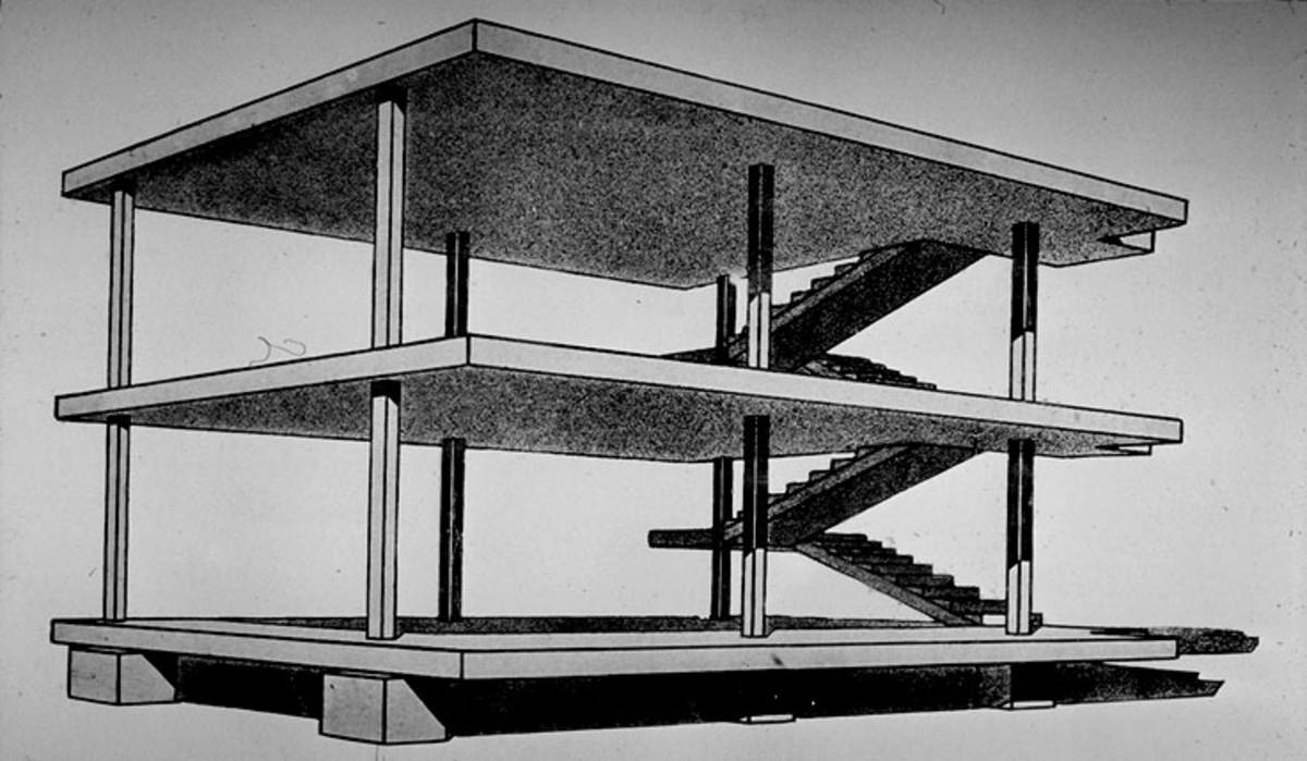Domino House, (1914)