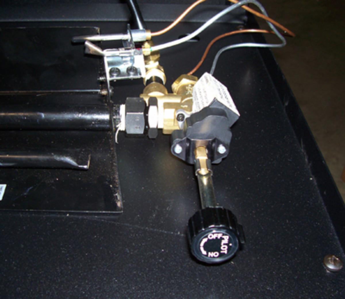 rh peterson realfyre ventless gas fireplace manual low profile valve.