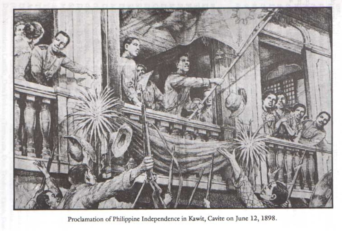 Proclamation of Philippine Independence (source Photobucket)