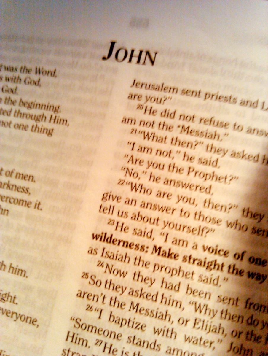 New Testament Gospel of John Chapter Summaries