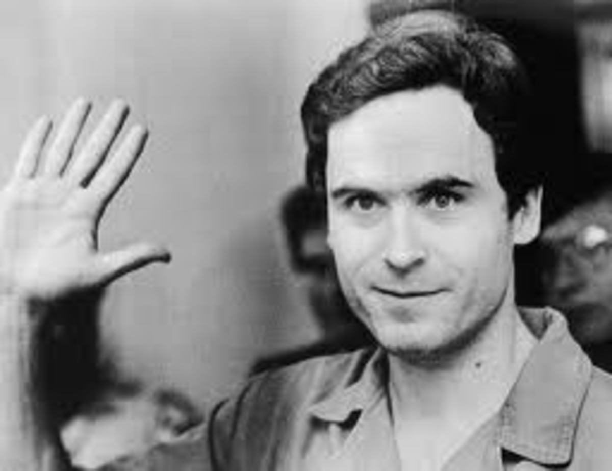 Ted Bundy,The Man Who was NOT Ken Misner, or Chris Hagen.