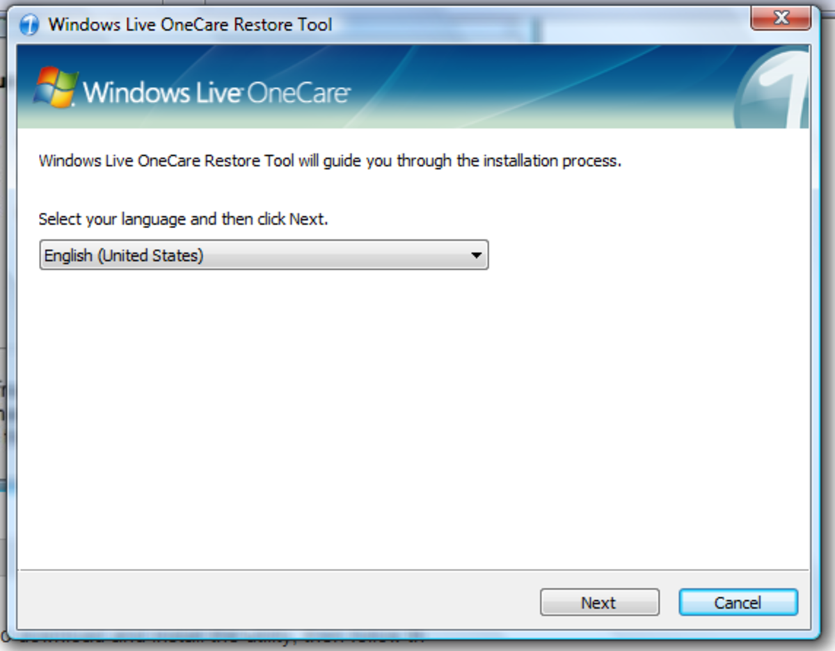 windows-live-onecare-backup