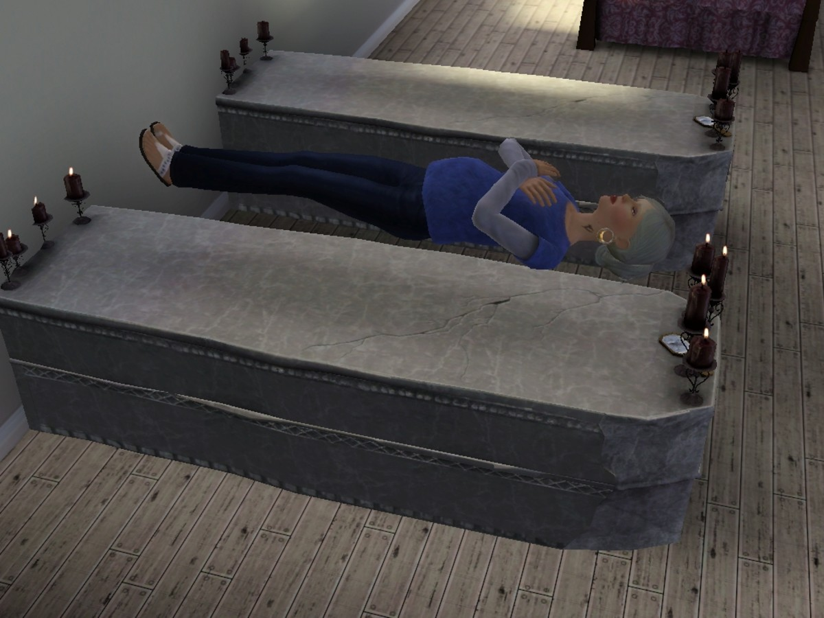 Pregnant Vampire Sims Need Rest Too